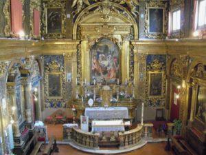Chiesa della Croce Senigallia interno