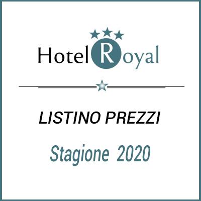 Listino Prezzi Hotel Royal Senigallia